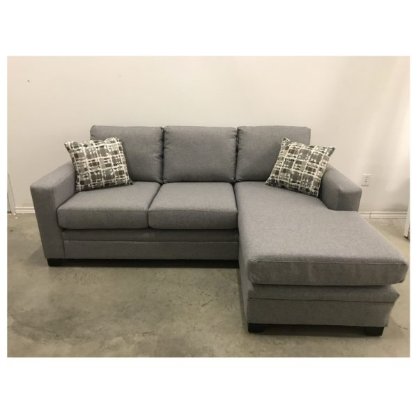 DONOVAN FABRIC SOFA WITH CHAISE